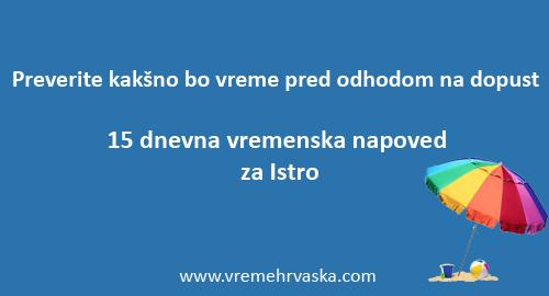 vreme Istra